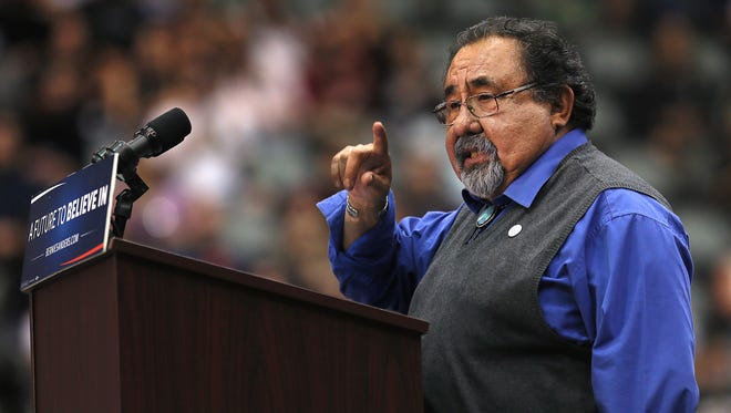 U.S. Rep. Raul Grijalva in Tucson on March 18, 2016.