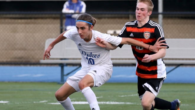 Matthew Comiskey and the rest of the Whitefish Bay soccer team will take on Marquette Saturday in a showdown of the state's top two teams.