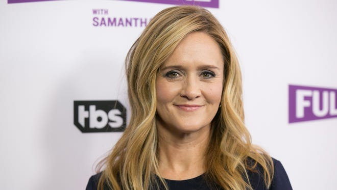 Samantha Bee, in Beverly Hills in May, addressed the Harvey Weinstein scandal on 'Full Frontal' Wednesday.
