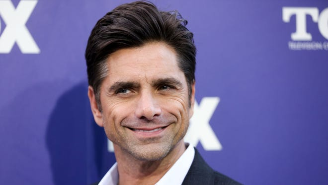 John Stamos, at the Fox Television Critics Association summer press tour in 2016, is an engaged man.