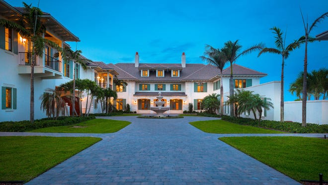 This property at 1940 S. A1A in Indian River County recently sold for $19.6 million. The compound is on seven acres, has 315 feet of oceanfront and multiple structures, including a main house, two guest houses and a caretaker's cottage.