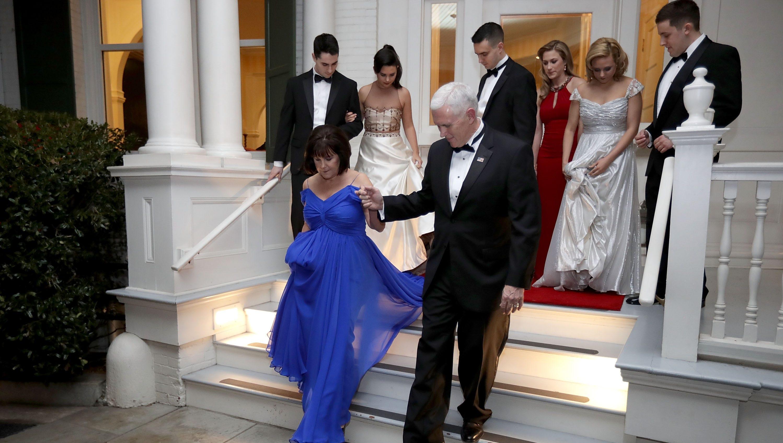 Vice President S Residence Book Shines Spotlight On Observatory Circle