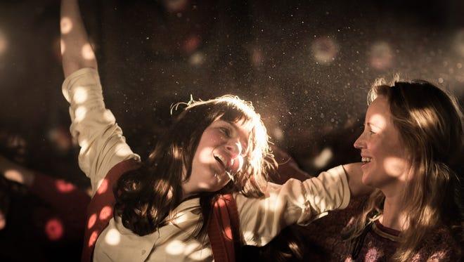 "Marie Leuenberger (left) stars in ""The Divine Order."""