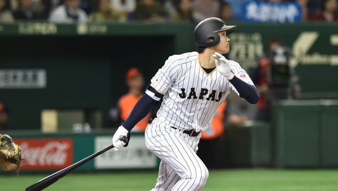 Japanese star Shohei Ohtani agreed to sign with the Angels.