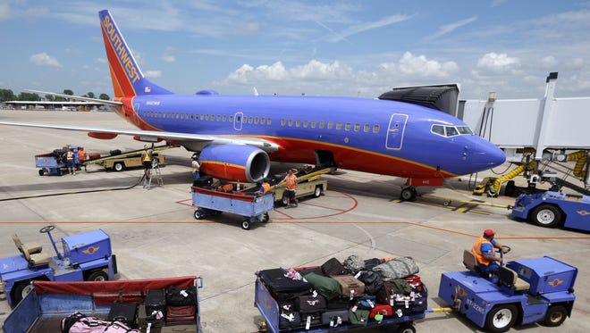 Southwest famously doesn't charge for first and second checked and carry-on bags (the only major domestic carrier that doesn't), nor does it impose ticket change and cancellation fees.