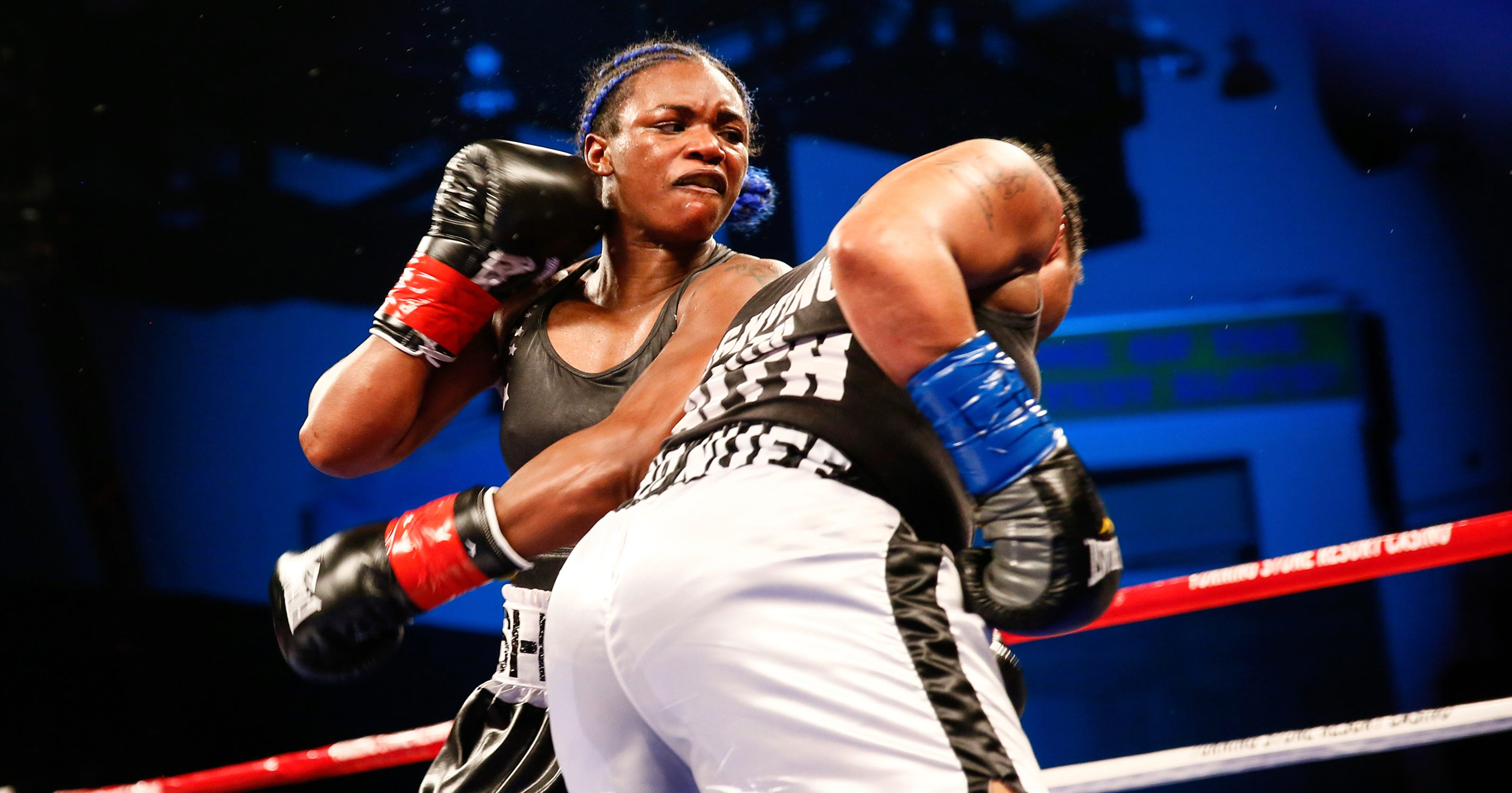 Autos By Nelson >> Claressa Shields defeats Tori Nelson, eyes shot at Christina Hammer