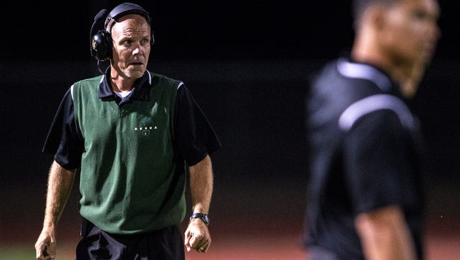 Rich Wellbrock, hired at Mountain Pointe, coached at Basha for one season and at Desert Edge before that.