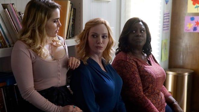 Mae Whitman, Christina Hendricks and Retta star in NBC's 'Good Girls.'