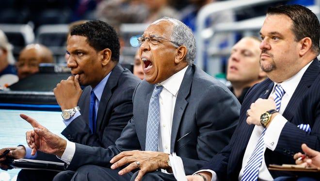 Memphis coach Tubby Smith