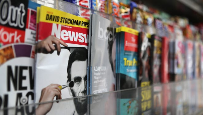 A newsstand
