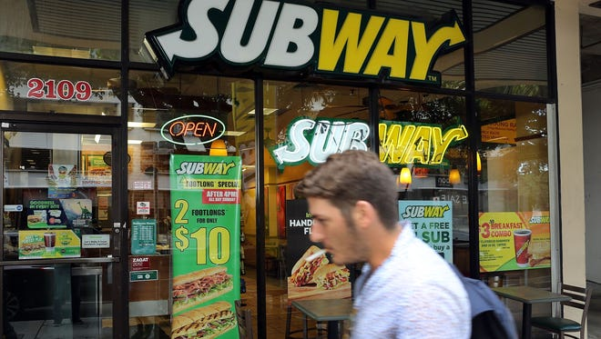 Subway Restaurants is planning to shutter an estimated 500 locations in the U.S. The Milford, Conn.-based chain wants to focus on better restaurant locations and boosting sales, according to Bloomberg. High on its priorities list is overseas expansion. This is a Subway restaurant is in Miami, Fla. 21, 2015.