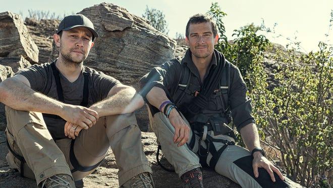 "Joseph Gordon-Levitt appears alongside Bear Grylls for the season premiere of ""Running Wild With Bear Grylls."""