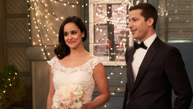 "Will wedding bells for Jake (Andy Samberg) and Amy (Melissa Fumero) in the May 20 finale spell the end of Fox's ""Brooklyn Nine-Nine""?"