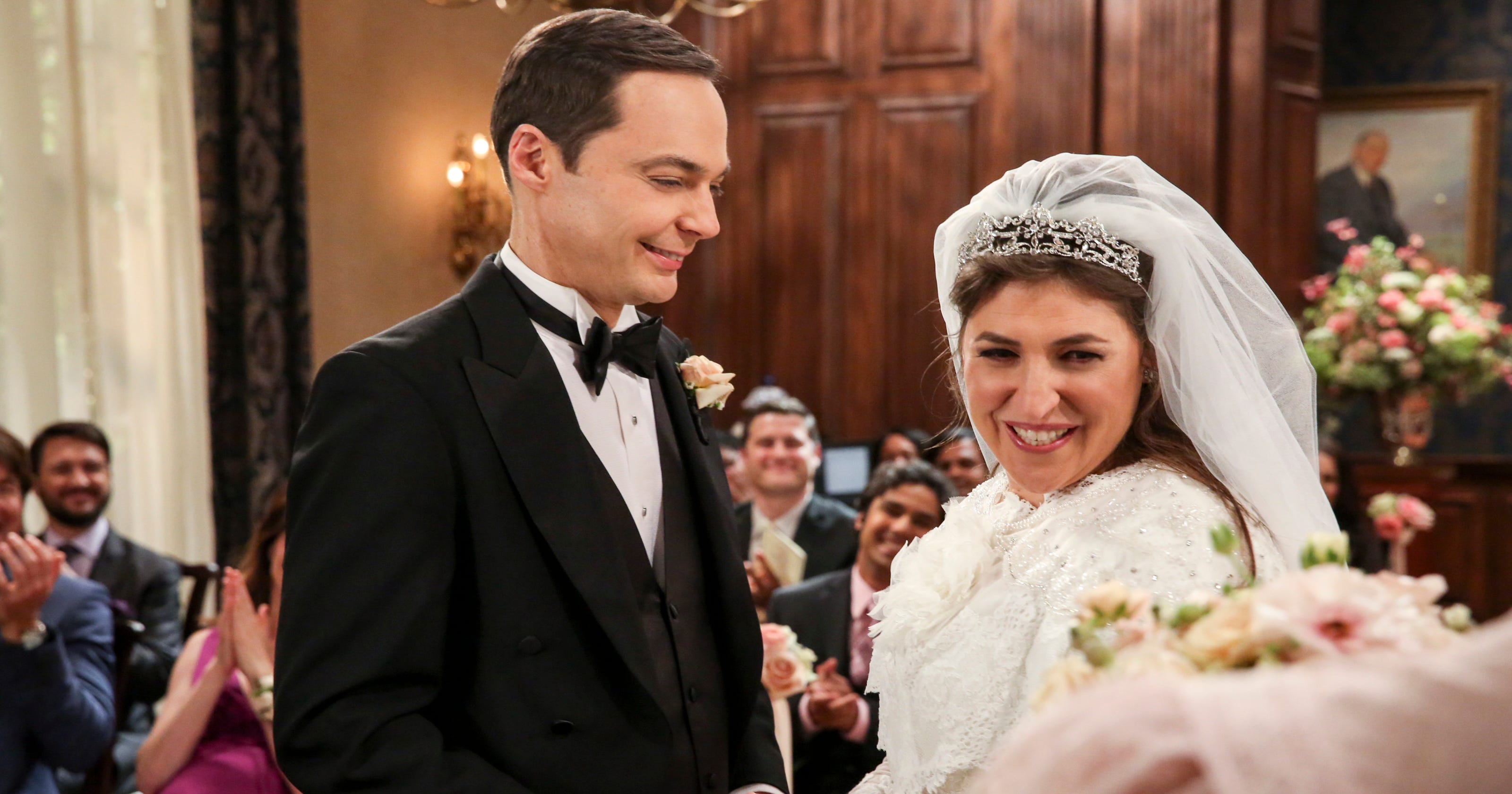 Sheldon And Amy Wedding.5 Things You Don T Know About The Big Bang Theory Wedding Finale