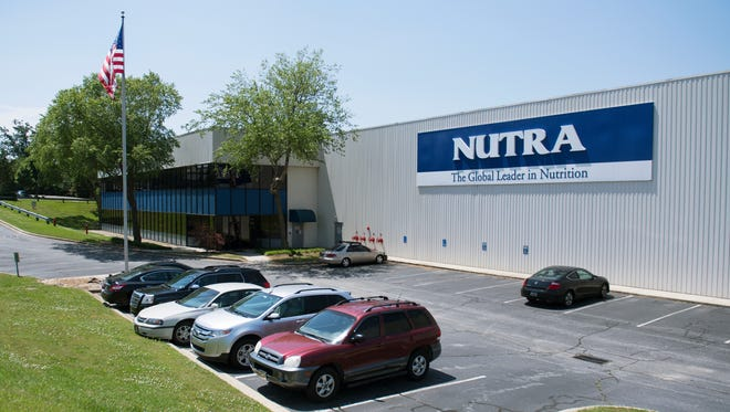 Nutra Manufacturing on Woodruff Road on Friday, May 11, 2018.