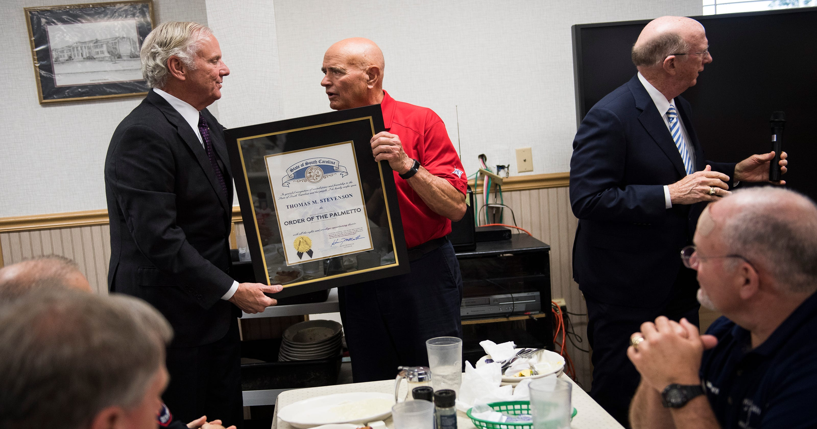 McMaster surprises Tommy's Country Ham House owner with ...
