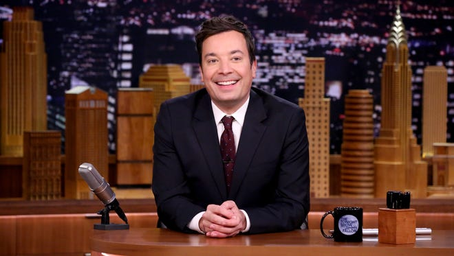 """The Tonight Show Starring Jimmy Fallon"" host Jimmy Fallon on Nov. 20, 2017."