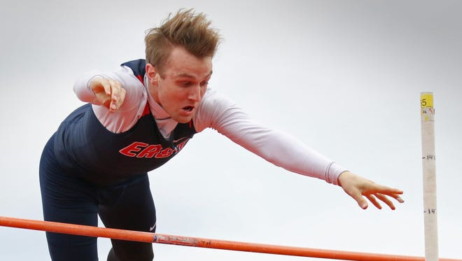 Brookfield East's Cameron Bauer landed on the podium twice a the state track and field meet.