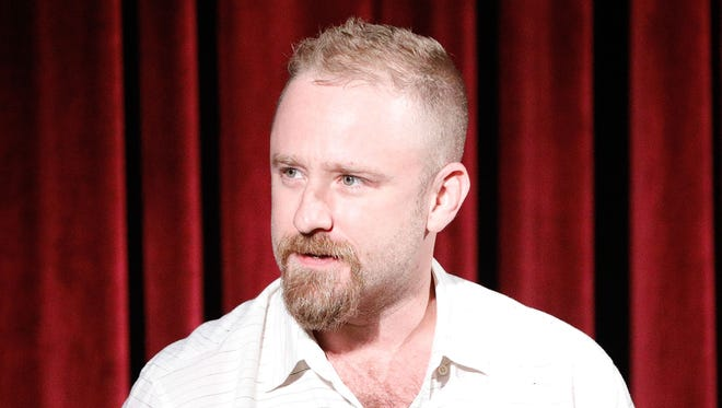 "Ben Foster promotes ""Leave No Trace"" on June 26, 2018, in New York City."