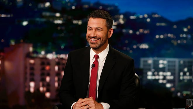 """""""Jimmy Kimmel Live!"""" airs every weeknight at 11:35 p.m. EDT."""