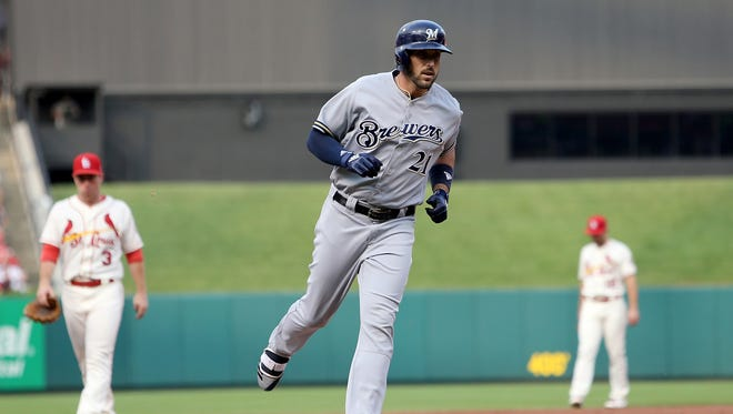Travis Shaw and the Brewers will play three games in St. Louis in the final week of the season, a series that could be pivotal.