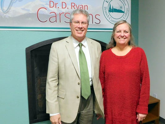 Dr Carstens and wife, Fay