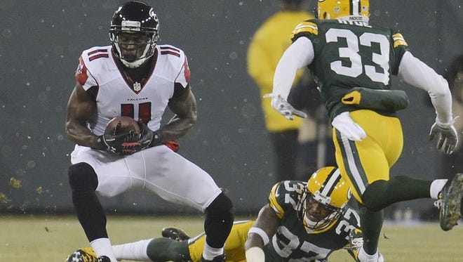Julio Jones and the Falcons gave the Packers an unexpected scare.