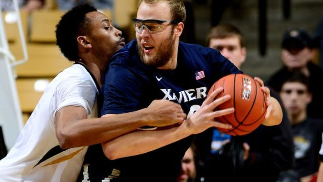 Xavier senior Matt Stainbrook liked the team's energy this week at practice as it prepared for Auburn, its third Southeastern Conference opponent in four games.