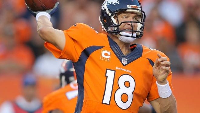 There are some extreme feelings for Peyton Manning — of  the Broncos — in Indianapolis.