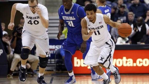 Dee Davis led Xavier with 14 points and six points