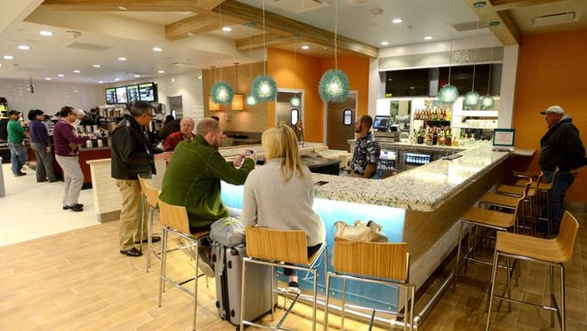 New pre-security concessions are now open at Pensacola International Airport beginning Thursday including Einstein Bros. Bagels and Pensacola Beach House.