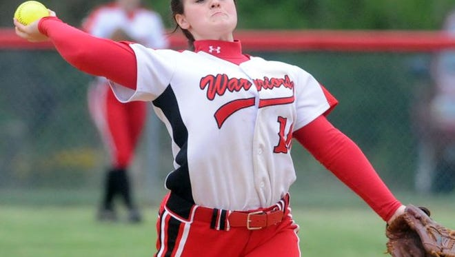 Erwin senior Cierra Roberts has committed to play college softball for Montreat.