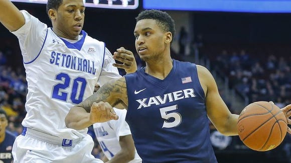 Trevon Bluiett (right) was named the Big East rookie