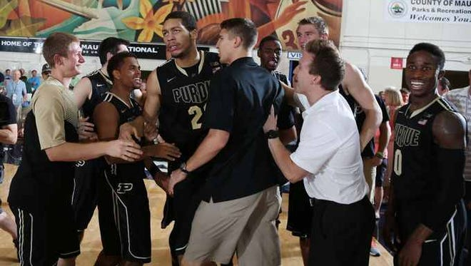 An overtime victory over BYU at the EA Sports Maui Invitational is still one of the best wins on the Purdue schedule.