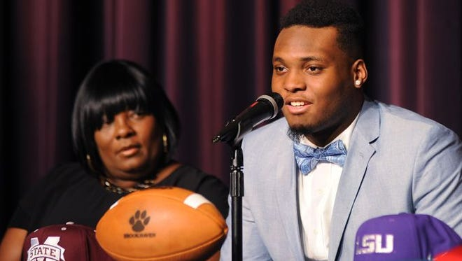 Brookhaven linebacker signed with Mississippi State on National Signing Day.