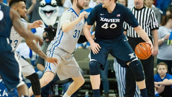 Matt Stainbrook was named Big East player of the week Sunday - just before he was announced as a member on the All-Big East Second Team. Trevon Bluiett was a unanimous selection for the All-Rookie Team.