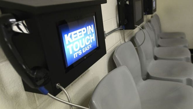 Starting next month, inmate visitation at Santa Rosa County Jail will be conducted only via video screens.