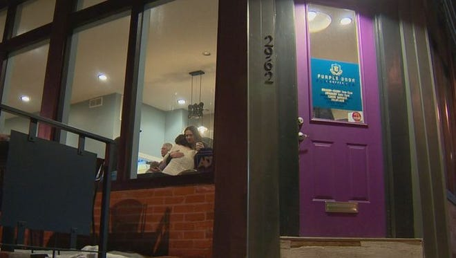 The Purple Door takes in young adults, three at a time, and gives them a job for one year.