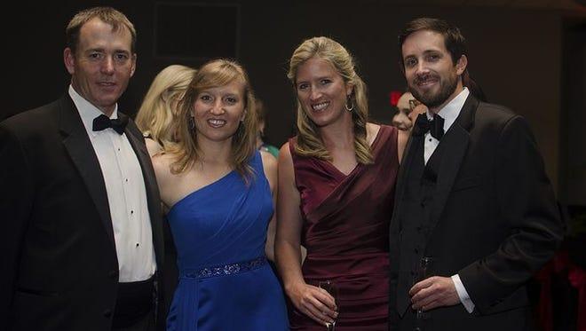 Steve Manning, Angelika Cope, Martina Mains, & Tristan Harper at the Operazzi Ball.