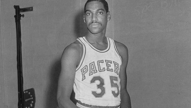 Former Pacers player Roger Brown is shown in 1971.