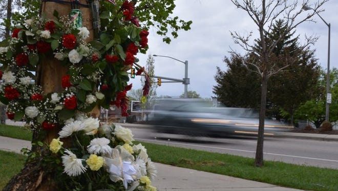 A Larimer County Sheriff's Office deputy exceeded 100 mph while pursuing a driver who seconds later was killed in a high-speed crash near the intersection of Harmony Road and College Avenue in south Fort Collins.