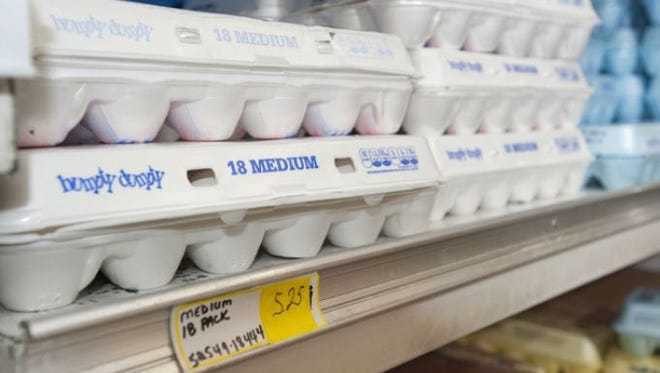 Egg prices are rising because of the spread of avian flu.