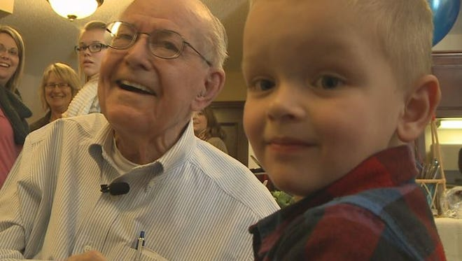 Despite 86 years between them, they're best friends.