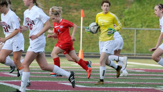 Asheville High goalkeeper Sarah Smith has committed to play college soccer for Catawba.