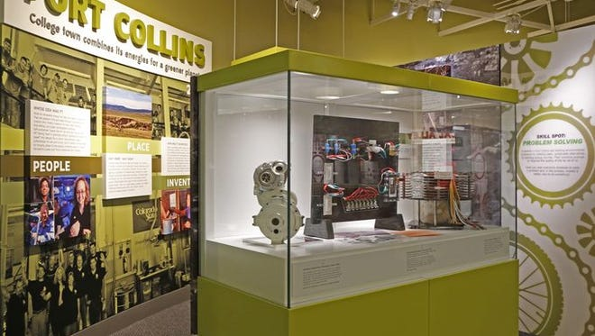 "Shown is the Fort Collins section of the ""Places of Invention"" exhibition opening July 1 at the Smithsonian Institute's National Museum of American History. Fort Collins and five other innovation hubs are featured in the exhibit."