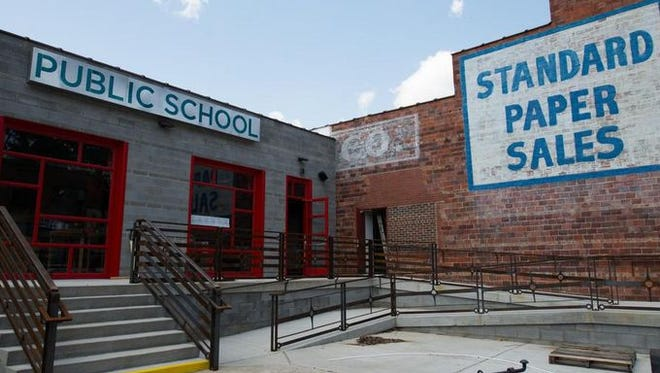 Public School is among a number of recently opened food-and-beverage businesses.