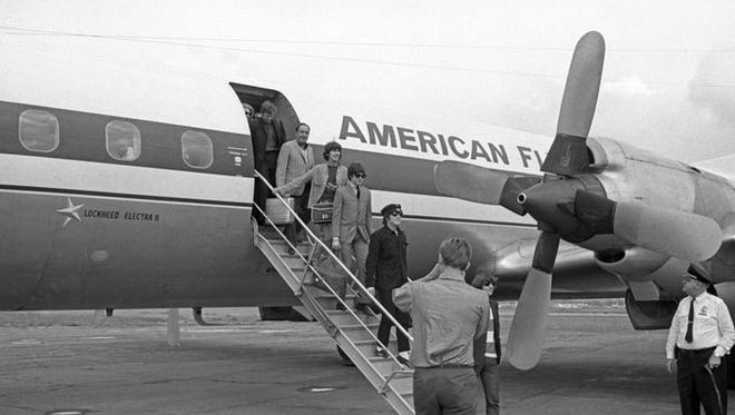 The Beatles arrive in the Twin Cities.