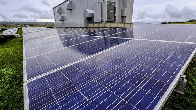 The nrg Renew's Dandan Solar Facility.