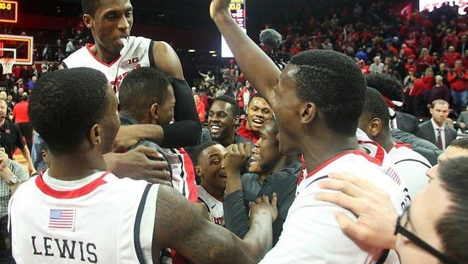 Rutgers' biggest B1G win last year came vs. No. 4 Wisconsin