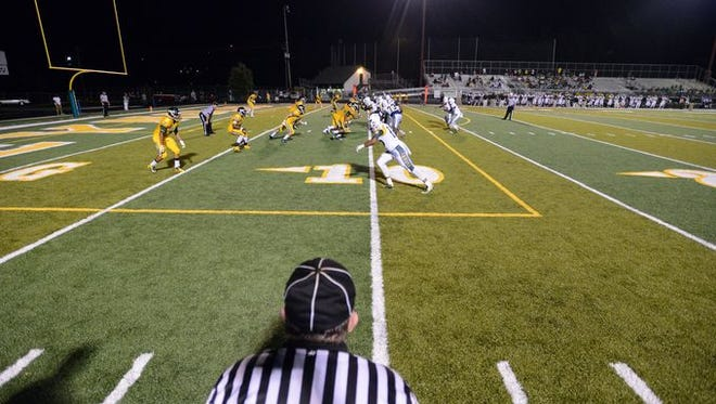 Fourteen high schools in Western North Carolina have artificial turf fields, including Reynolds.